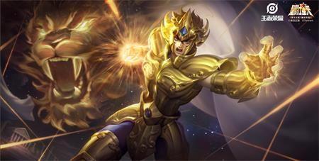 王者荣耀达摩皮肤狮子座介绍:技能很棒的特效
