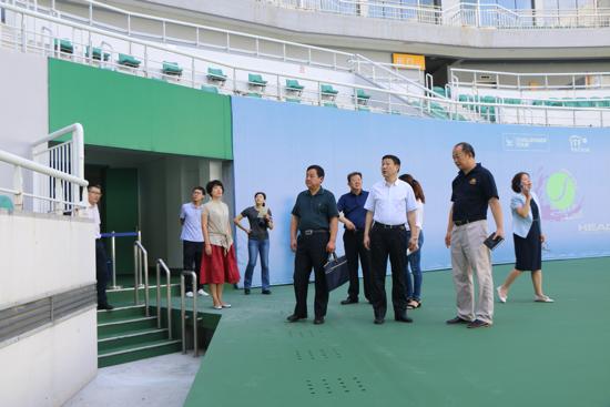 济南奥体中心积极筹备济南网球公开赛