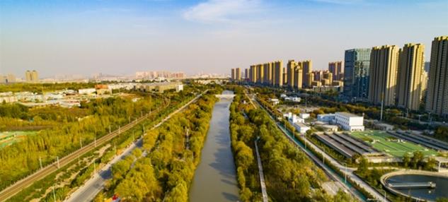 【飞阅泉城】暖阳下瞰小清河两岸色彩斑斓