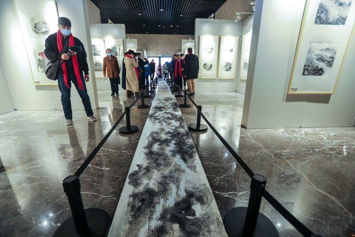笔墨绘乡情  家是小清河中国画写生提名邀请展隆重开幕