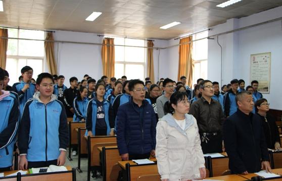 """济南鲁矿中学高一年级举办 """"世界读书日""""演讲比赛"""