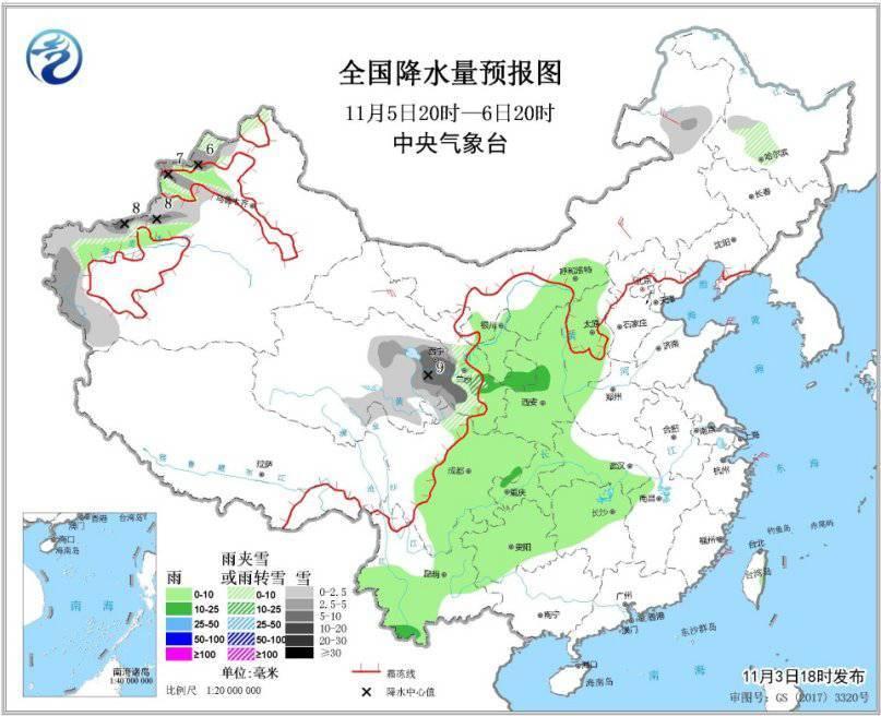 未来三天西南地区多阴雨天气 华北部分地区将有霾