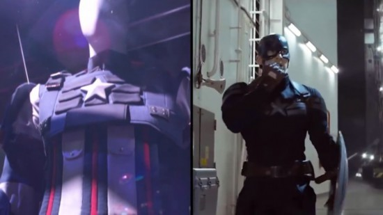《漫威复仇者联盟》服装与电影对比