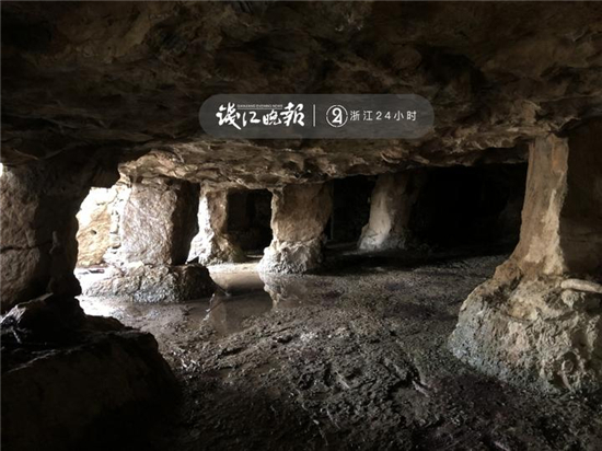 千岛湖附近发现20多个古石窟引发众多猜想