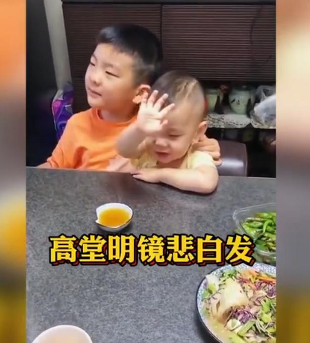 厉害了!7岁哥哥和2岁弟弟吟诵《将进酒》,网友评论亮了!