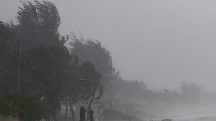 【台风路径实时发布系统】双台风来袭 台风查帕卡正面袭击广东