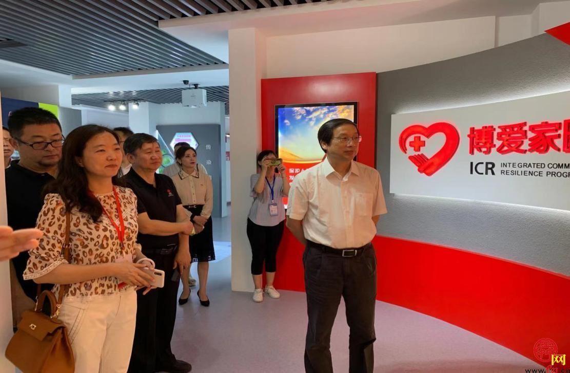 苏州大学红十字国际学院院长王汝鹏一行到槐荫区调研