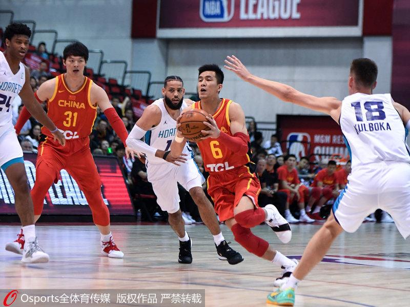 NBA夏季联赛-周琦17+9 中国队84-80险胜黄蜂获首胜