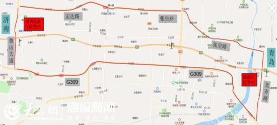 济青北线临淄东互通南侧将封闭两天  绕行线路看这里