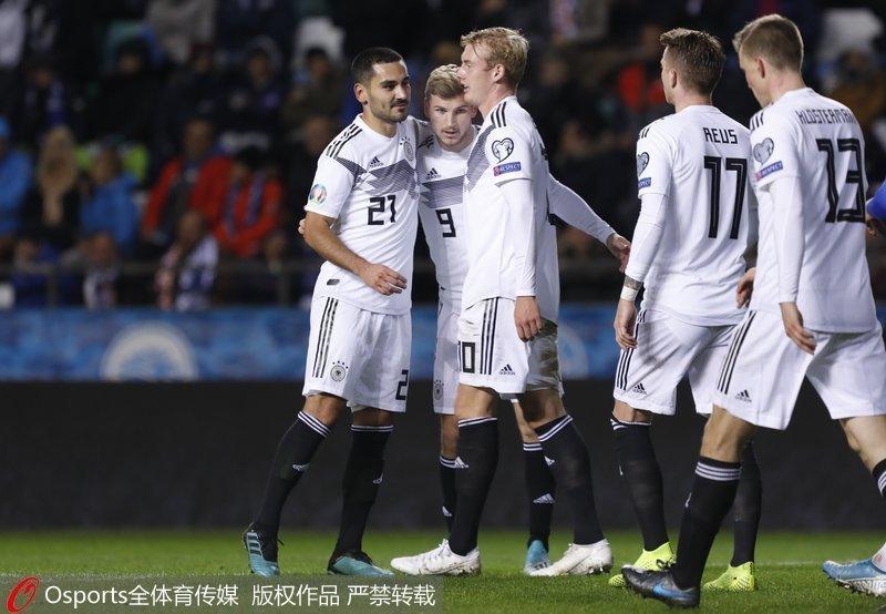 欧预赛-京多安梅开二度 10人德国客场3-0胜爱沙尼亚