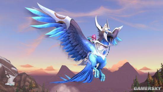 《魔兽世界》购买180天游戏时间 赠送全新蓝玉灼天者坐骑