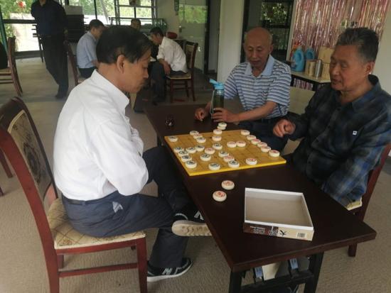 银座花园社区举办象棋交流赛