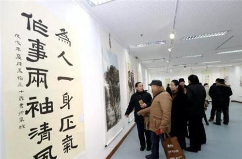 清风留墨香 廉政树正气——2018年全区廉政书画展举行