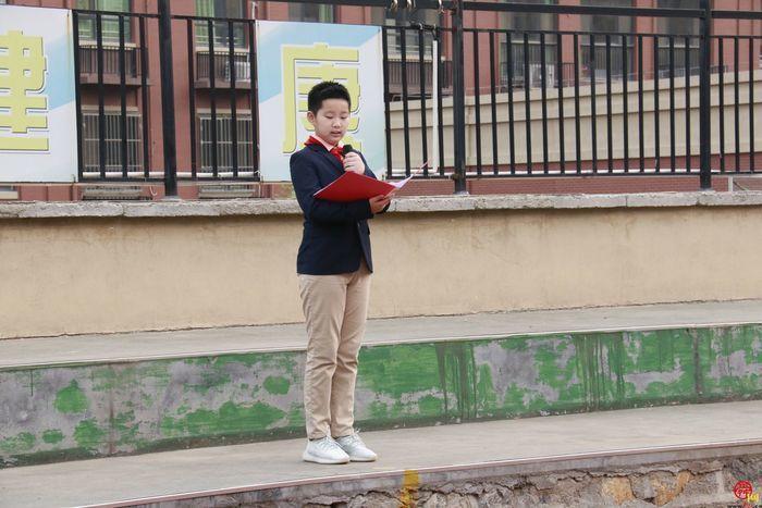 讲好普通话·迎接新时代——记济南高新区凤凰路小学第三周升旗仪式