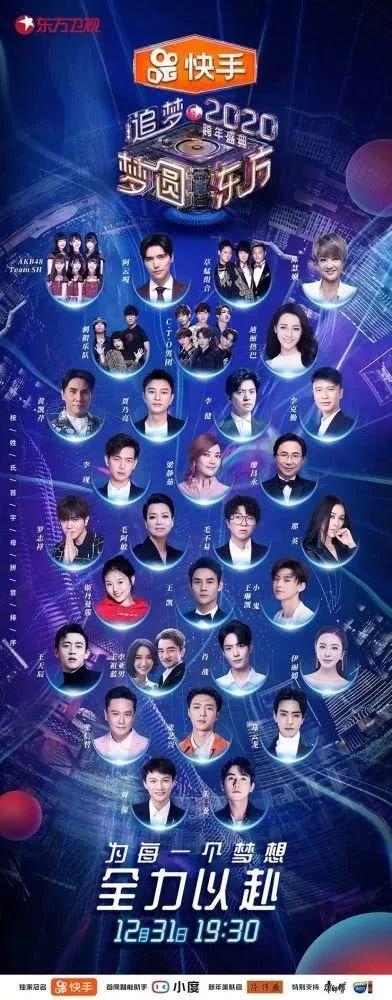 跨年晚会收视排名出炉!湖南卫视第一央视第二,你看了哪个?