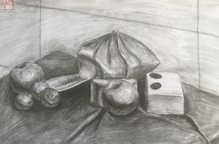 小荷才露尖尖角-----济南艺术学校美术专业期末优秀试卷展示