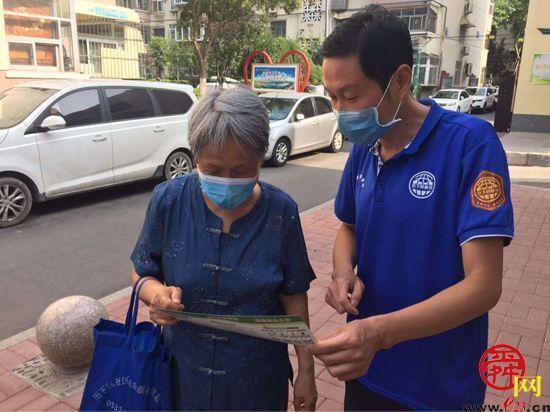 县西巷社区倡导垃圾分类 共建文明社区