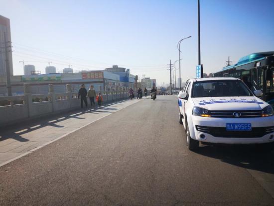 天桥城管多方联动  严格执法促提升