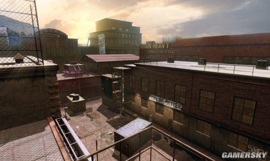 暗潮涌动的暴力街区《生死狙击2》新地图曝光