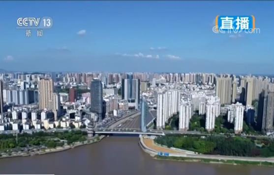 """【美丽中国·我的家】安徽芜湖 """"十里江湾""""绿意浓 生态景观美如画"""