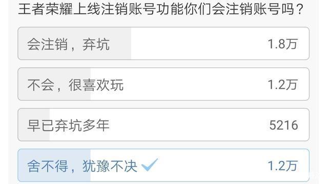 王者荣耀注销功能正式上线,网友:怕被女友偷偷注销