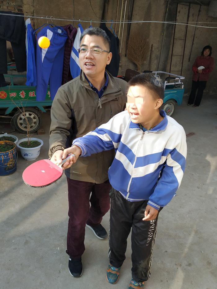 平阴县特殊教育学校刘新兵:特教托起幸福的家
