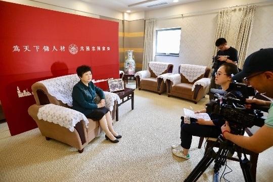 济报全媒体记者专访山东大学堂长樊丽明:做好济南的人才、科技、智力支撑