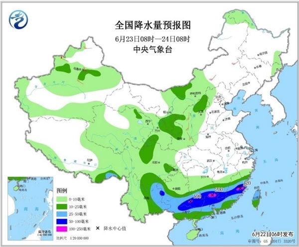 周末南方暴雨持续局地大暴雨 北方高温范围扩大