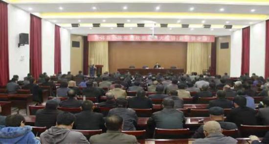 济南市商河县开展民族宗教政策法规大宣讲活动