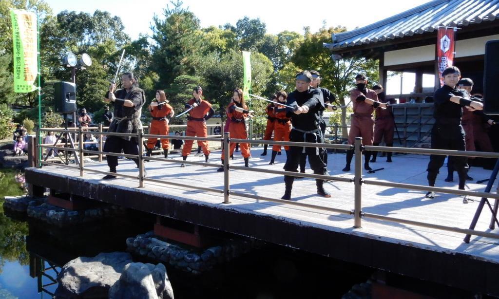 """日本23名公务员成立""""忍者组织""""还苦练水上行走 遭解散"""