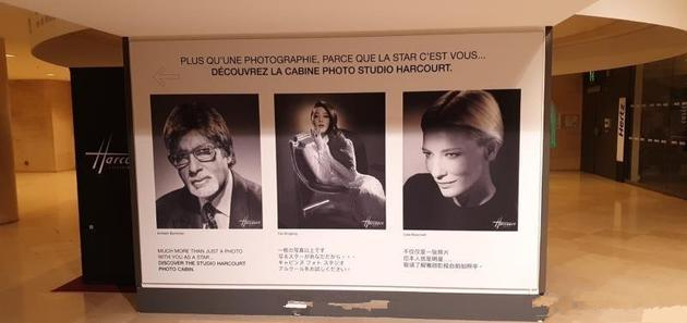 范冰冰画报立于巴黎卢浮宫入口,网友:稳站C位!