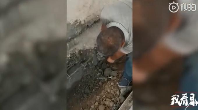 水泥用手能捏碎 学校建校舍遇造假 发现早没酿祸学生去哪住?