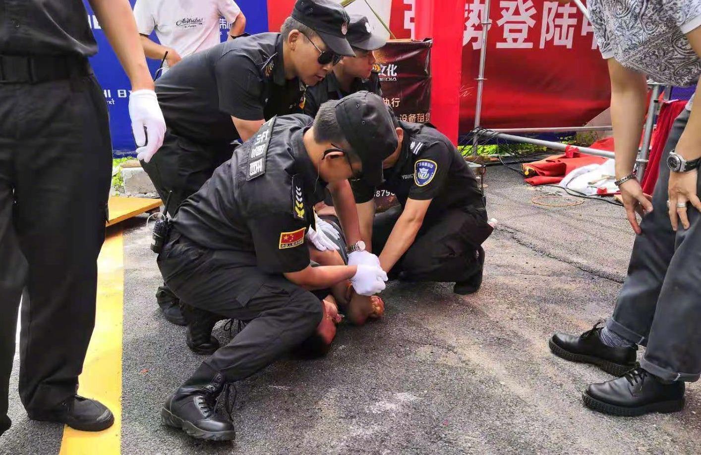 任达华参加活动被袭 工作人员回应:状态清醒伤口已处理