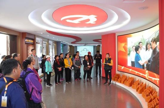 台湾少数民族参访团来章丘参访交流