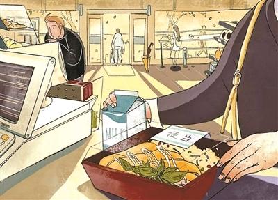 """白领偏爱热餐 便利店成""""城市厨房"""""""