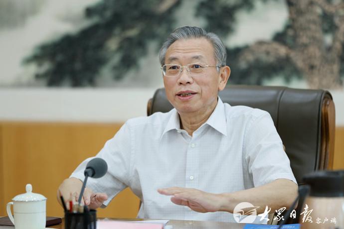 刘家义主持召开工业互联网工作专题会议